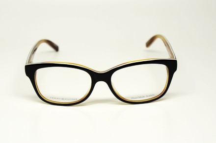 Black Plastic Glasses Frames Turning White : TOMMY HILFIGER TH 1017 UNO S.52 EYEGLASSES BLACK WHITE ...