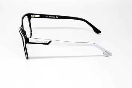 Black Plastic Glasses Frames Turning White : DIESEL DL 5013 005 S.54 EYEGLASSES BLACK WHITE PLASTIC RX ...