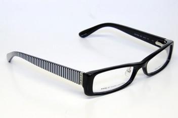 Black Plastic Glasses Frames Turning White : MARC BY MARC JACOBS MMJ 448 E07 EYEGLASSES BLACK WHITE ...