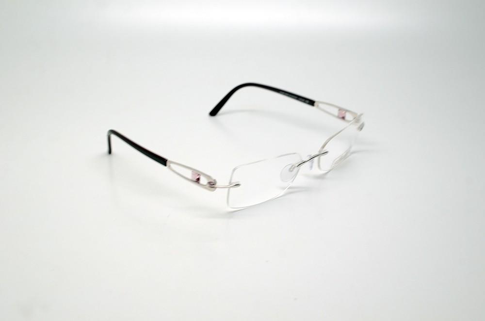 rx eyeglasses online  rx glasses rose silver