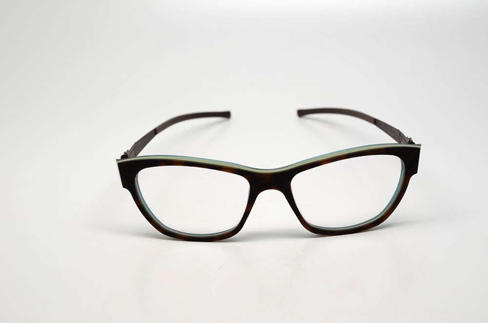 IC Berlin Black Hole s 55 Eyeglasses Chocolate Plastic RX ...