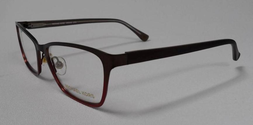Michael Kors Mk 343 273 S 51 Eyeglasses Brown Red Gradient