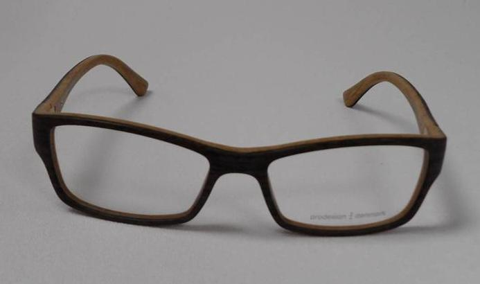 Eyeglass Frame Pd : PRODESIGN PD 7627 C.5021 S.53 EYEGLASSES BROWN PLASTIC RX ...
