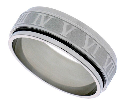 Ebay Uk Roman Numeral Ring