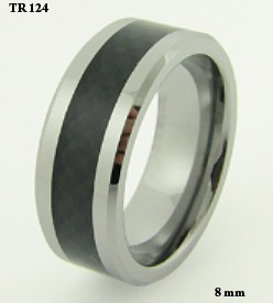 Tungsten-Carbide-Carbon-Fiber-Band-High-Polished-Ring