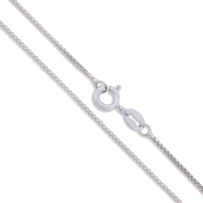 16 quot sterling silver necklace italian box chain 925