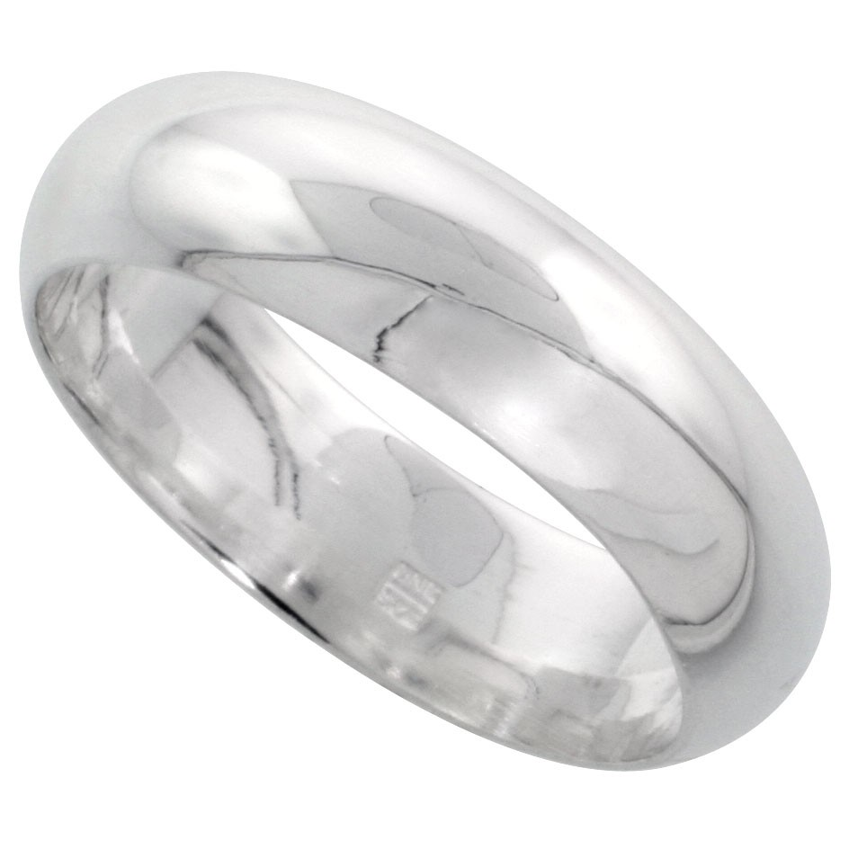 SOLID Sterling Silver Band Comfort Fit Ring Genuine 925 Wholesale