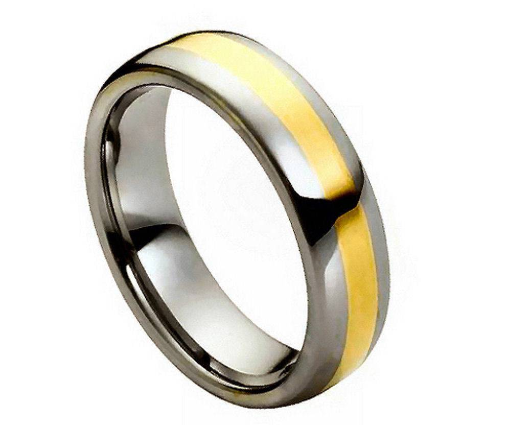 Men 39 S Tungsten Carbide Wedding Ring Classic Comfort Fit Band New Fashion