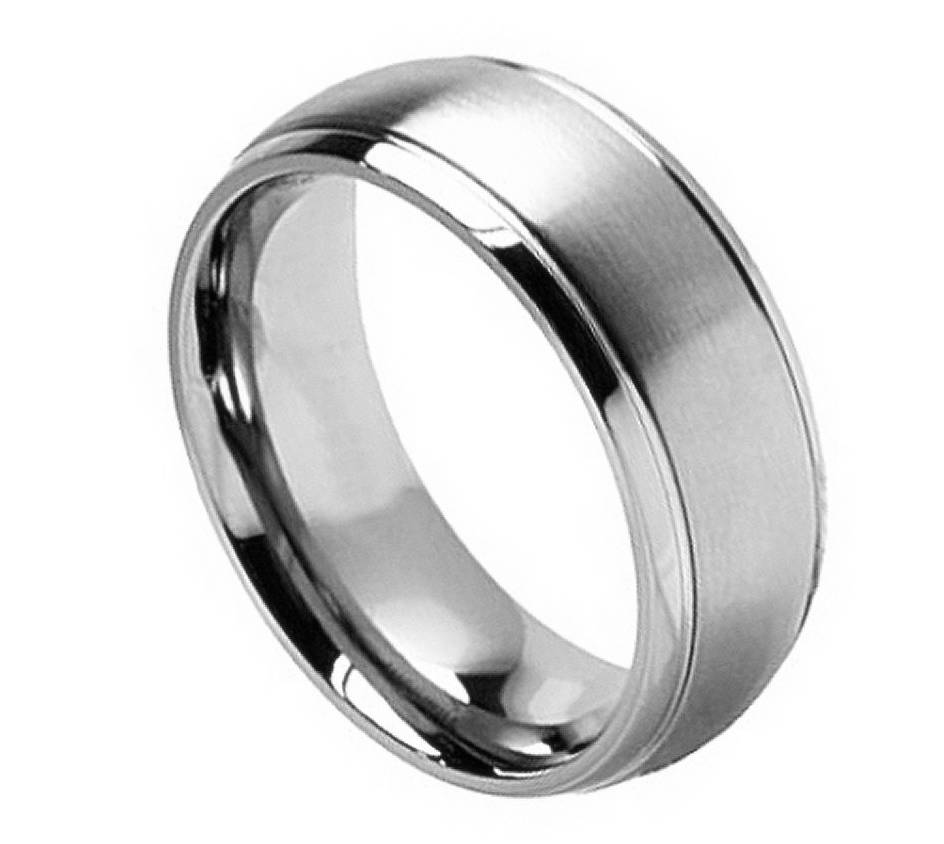 about Men's Titanium Wedding Ring Classic Comfort Fit Band New Quality ...