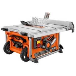 New ridgid r45161 compact portable table saw 10 blade for 10 portable table saw