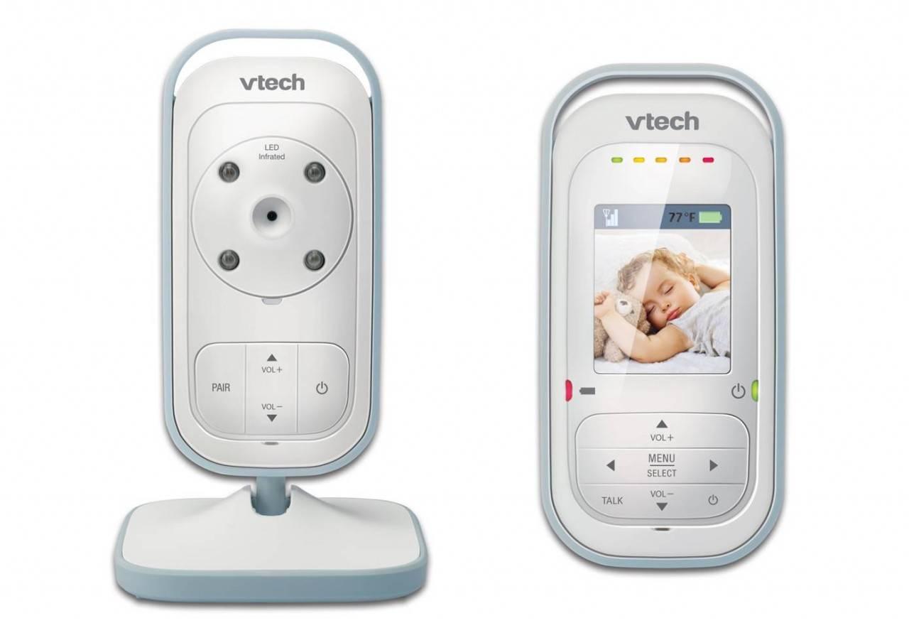 vtech bm2500 safe sound video audio baby monitor ebay. Black Bedroom Furniture Sets. Home Design Ideas
