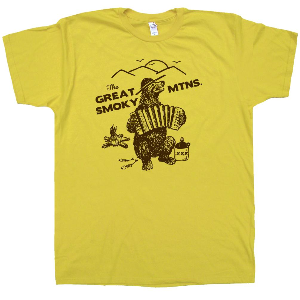 The great smoky mountains t shirt smokey bluegrass bear The great t shirt
