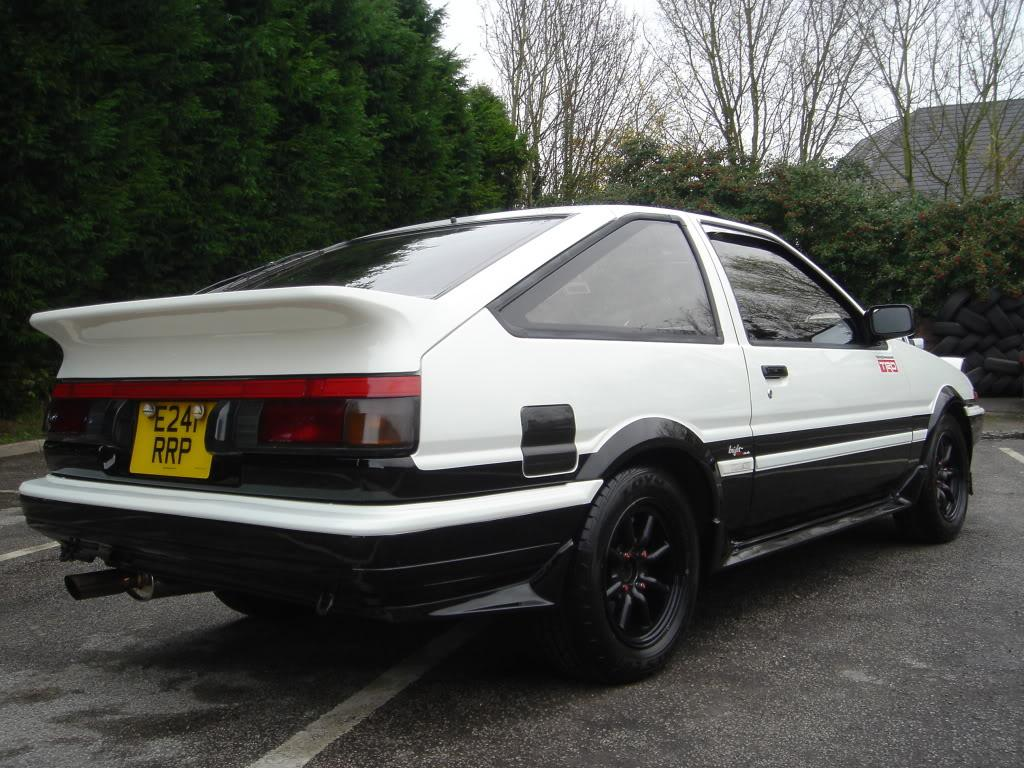 toyota corolla gt coupe levin ae86 4age bumper skirts ebay. Black Bedroom Furniture Sets. Home Design Ideas