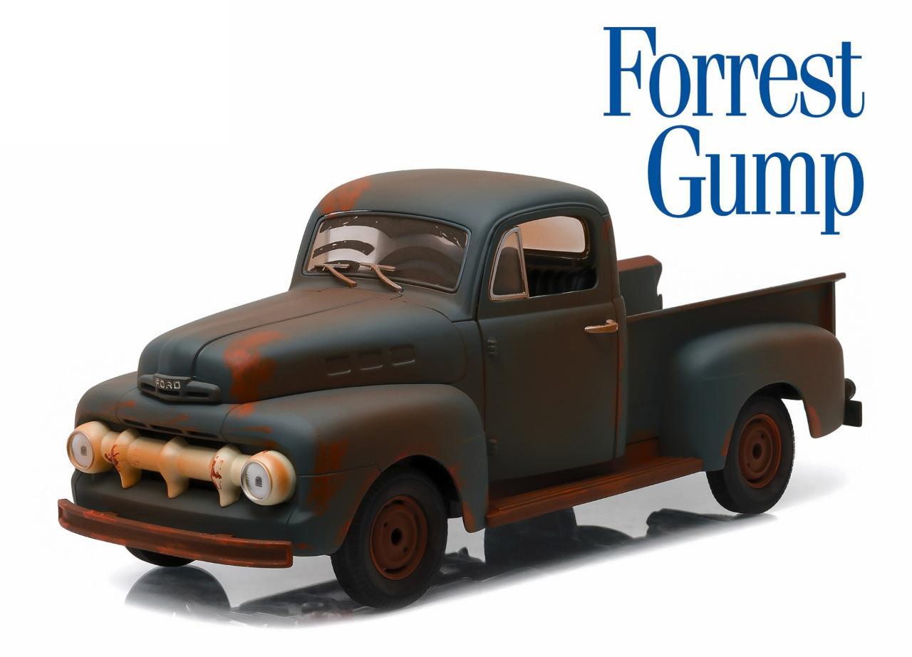 Greenlight 12968 Forrest Gump 1951 Ford F 1 Truck Diecast