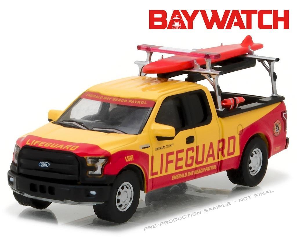 Toys For Trucks Green Bay : Greenlight f baywatch ford beach patrol