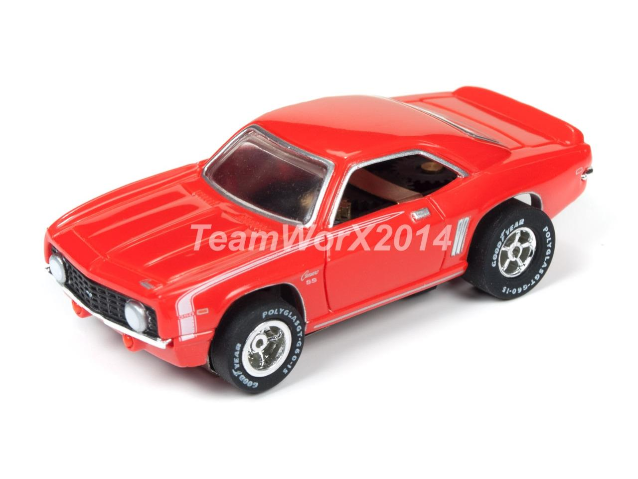 Slot muscle cars