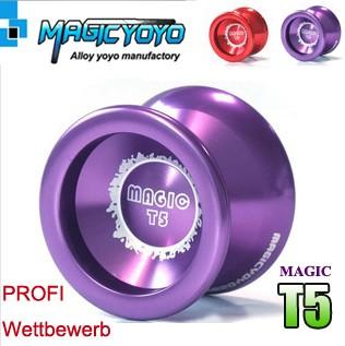 Wow-Magic-YOYO-T5-Oberherr-Profi-wettbewerb-trick-yo-yo-jojo-jo-jo-aus-Aluminium