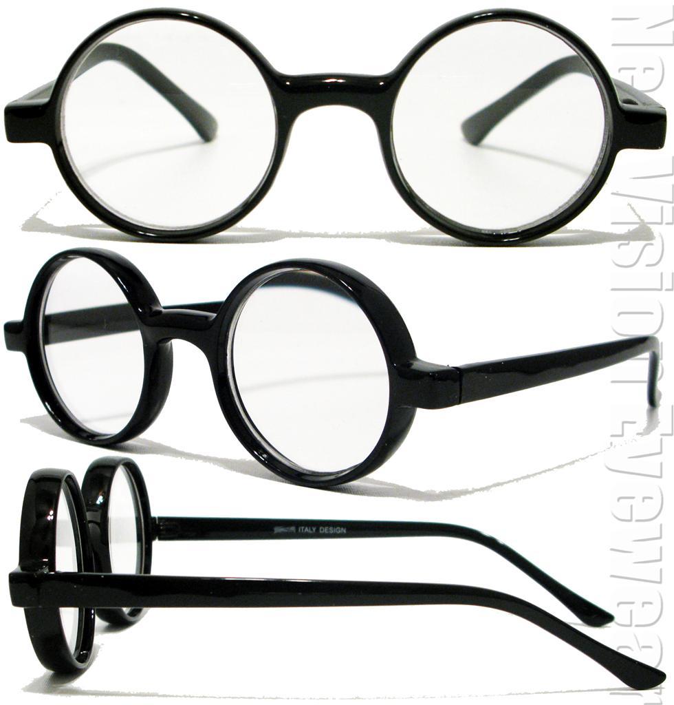 Marco Redondo Claro Harry Estilo Vintage Gafas de Lectura Color ...
