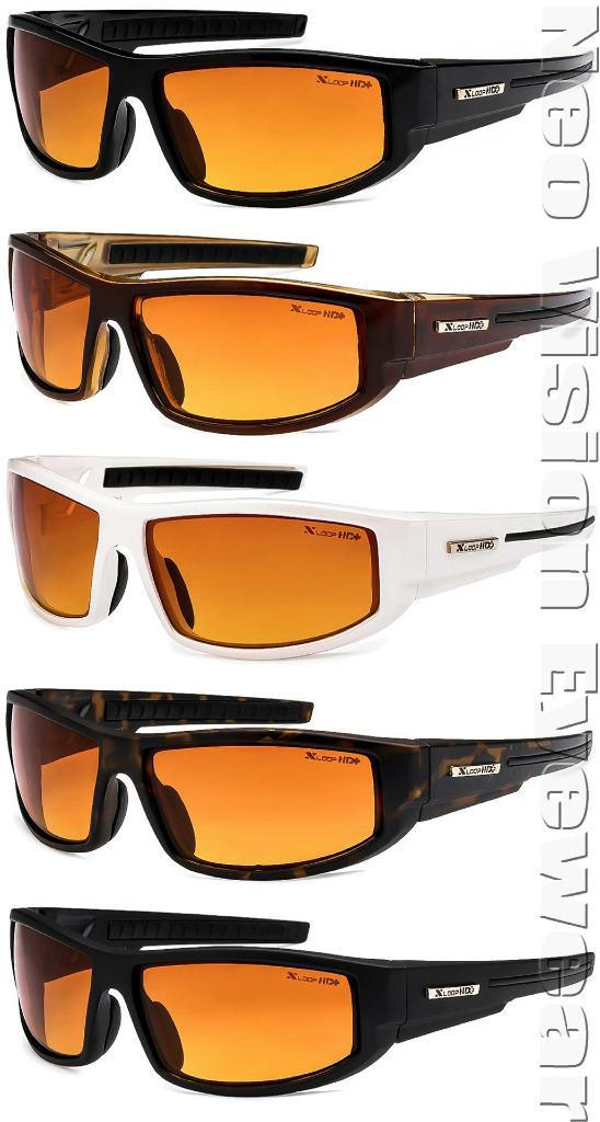 High Definition Sunglasses  x loop high definition sunglasses sport driving hd amber lenses