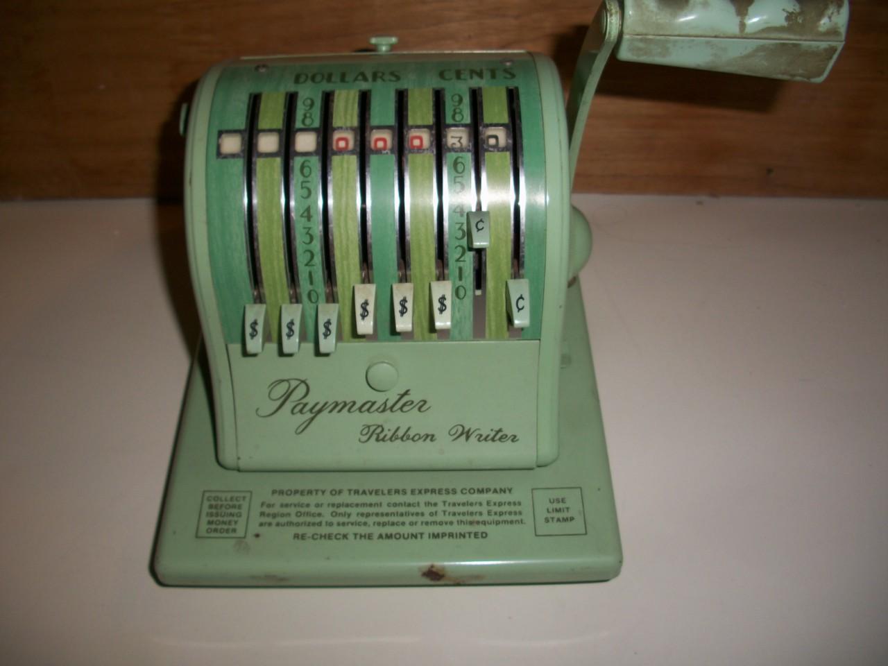 money order machine