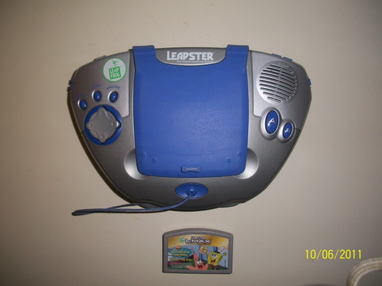 leapster learning game system instruction manual