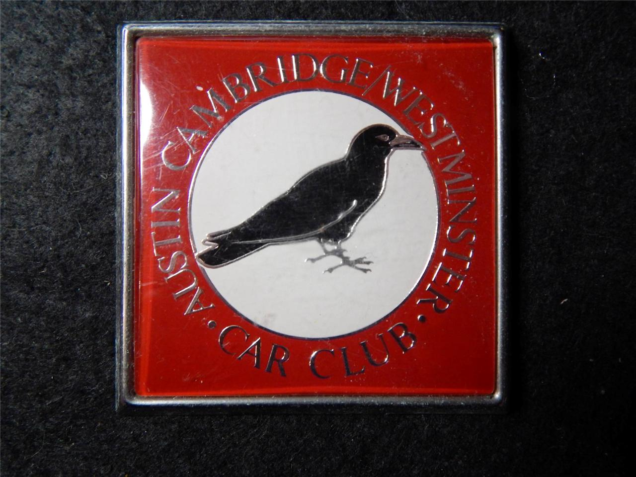 CAR-BADGE-AUSTIN-CAMBRIDGE-WESTMINSTER-CAR-CLUB