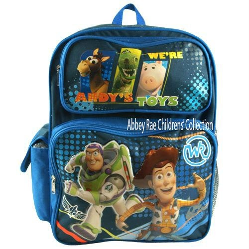 Disney-Toy-Story-3-Backpack-NEW-PVC-Front-Buzz-Woody