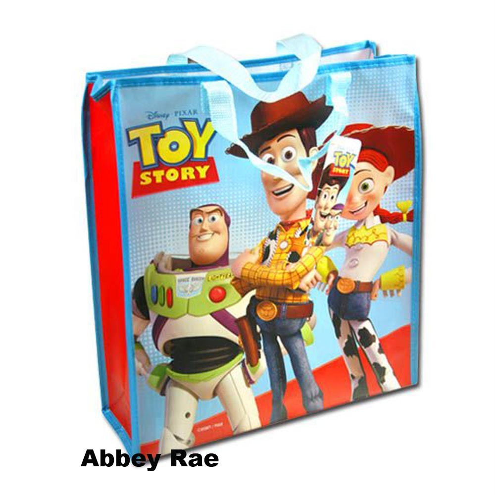 Disney-Toy-Story-Large-Tote-Bag-Swimming-Bag-NEW-Buzz-Lightyear-Woody-Jessie