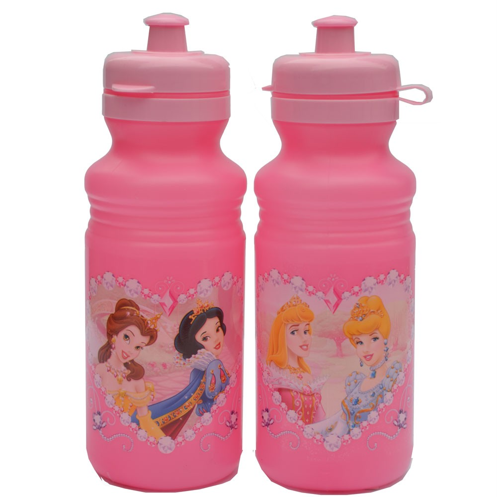 Disney-Princess-Girls-Drink-Bottle-NEW-Snow-White-Cinderella-Aurora-Belle-Bottle