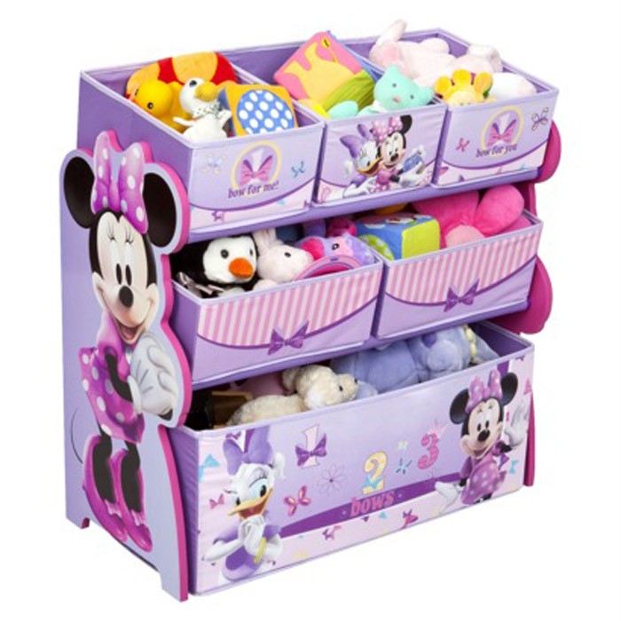disney minnie mouse toy storage toy organiser new girls bedroom minnie