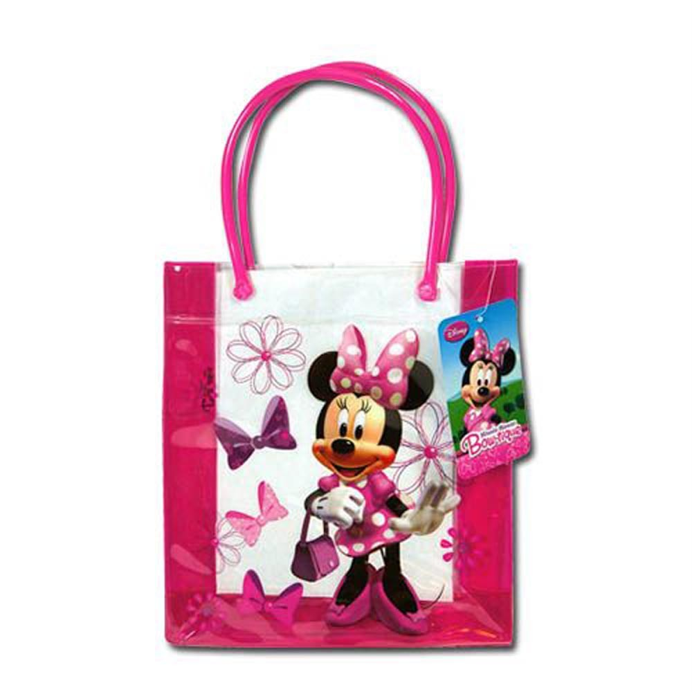 disney minnie mouse handbag purse tote bag new pvc