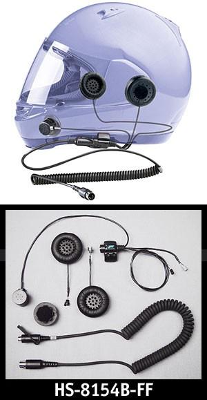 Headset for Full Face Helmet   All Goldwings, Harley 5 pin 89 97