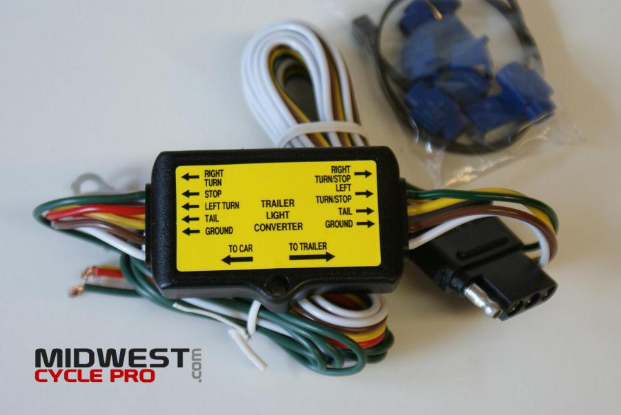 Trailer wire harness converter to goldwing