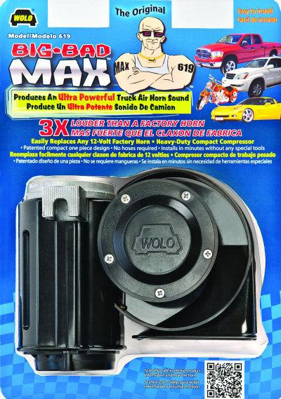 Wolo Big Bad Max Motorcycle Air Horn for Honda Goldwing GL1800 GL1500