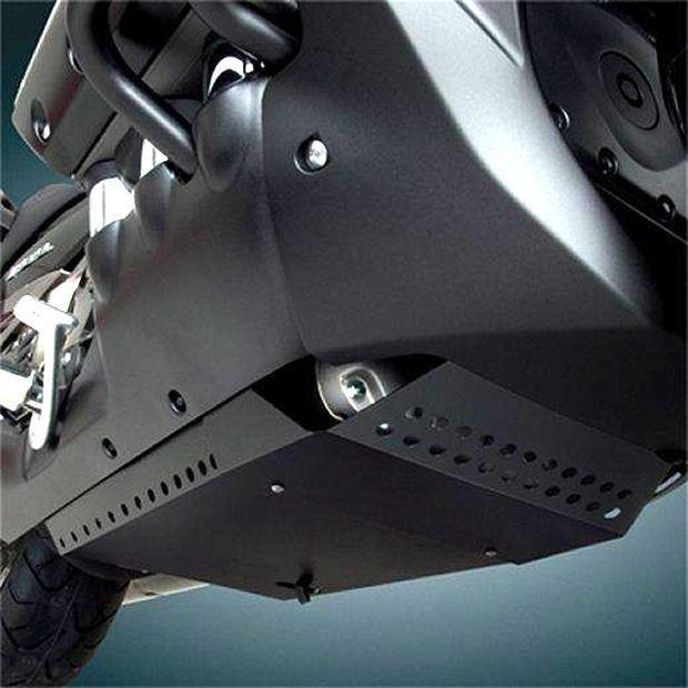 black engine plate belly pan goldwing gl  fb  valkyrie  bk ebay