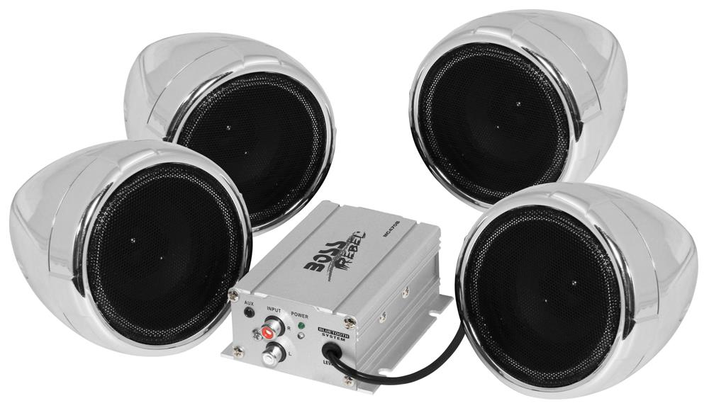 Boss Audio Motorcycle Atv Utv Speaker System 1000w