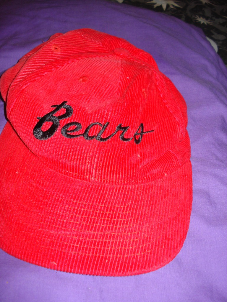 BEARS-North-Sydney-LEAGUE-Cap-Red-Corduroy