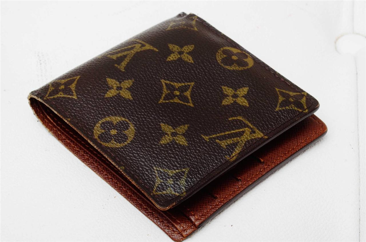 louis vuitton monogram authentic luxury mens coin wallet