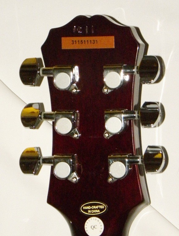 Gibson acoustic serial dating epiphone