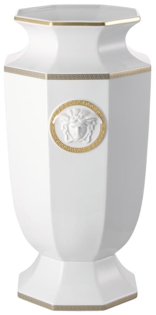 Brand-New-in-Box-Rosenthal-Versace-Gorgona-Porcelain-Vase-55cm