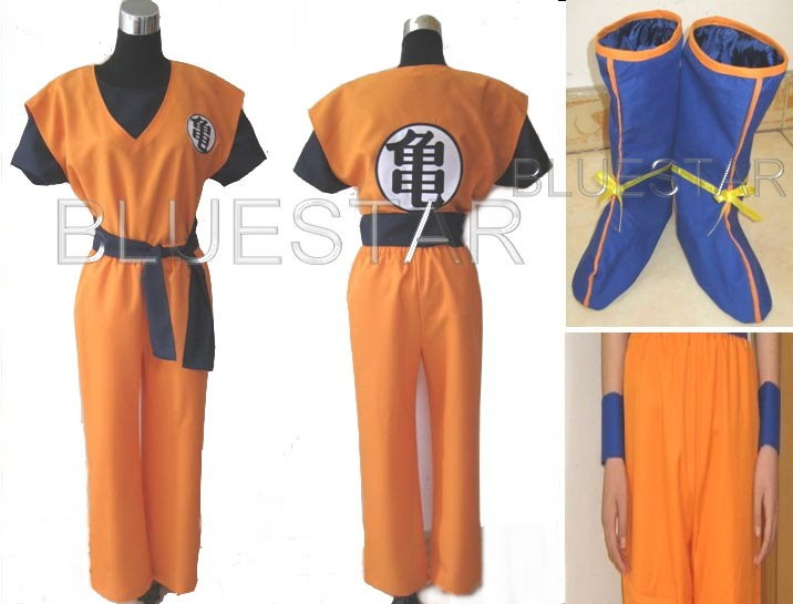 Dragon Ball Costume. DRAGON BALL Z GOKU COSPLAY
