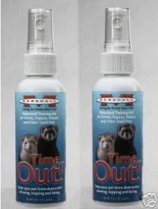 Ferret Time Out Training 4oz Spray Kittens Puppies Small