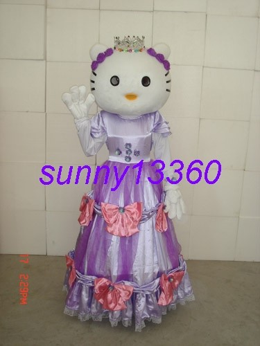 New Adult size hello kitty Mascot Costume