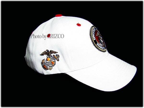 BRAND NEW RAPID DOMINANCE WHITE RED MARINE CAP