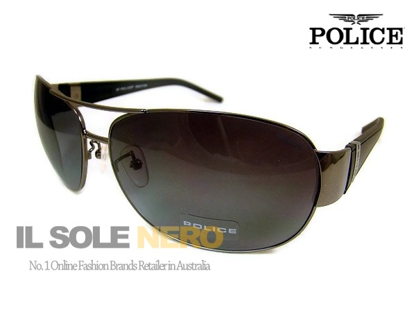 BRAND NEW AUTHENTIC POLICE SUNGLASSES S8338G COL.0568