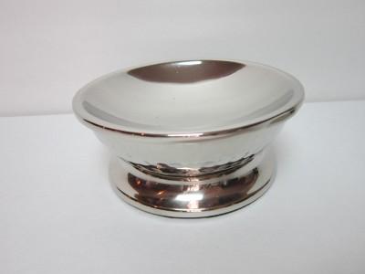 New Paradign Trends Bathroom Accessories 5 Piece Set Loren Silver Hammered Metal Ebay