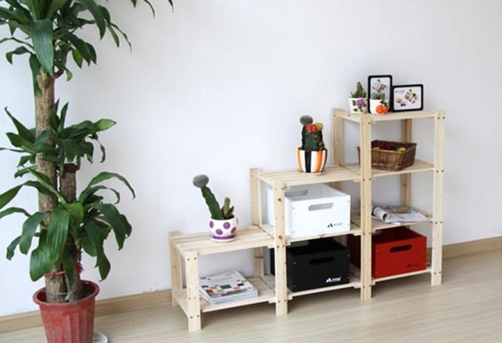 wandregal holz regal lagerregal stand storage rack holz. Black Bedroom Furniture Sets. Home Design Ideas