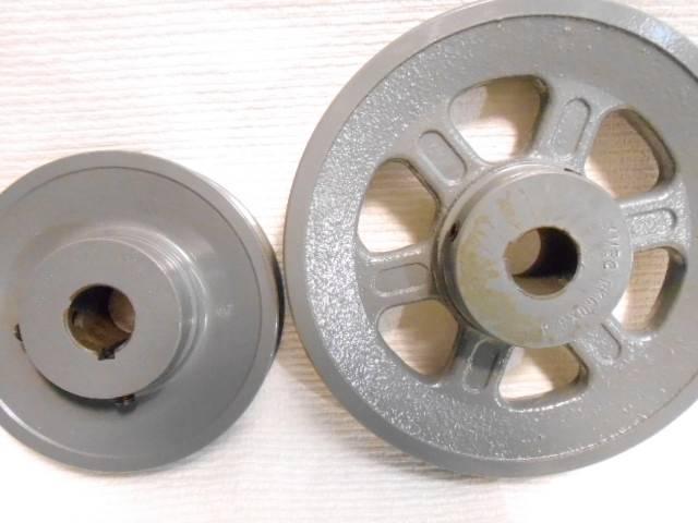 100s v belt pulley for 1 2 5 8 wide belt 3 4 4 5 5 5 25 5