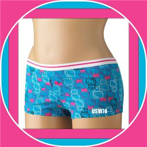 NWT BEAUTIFUL JUNIOR GIRLS BLUE HELLO KITTY BOYSHORTS