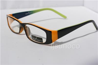 orange green reading glasses readers 1 00 designer 068 ebay